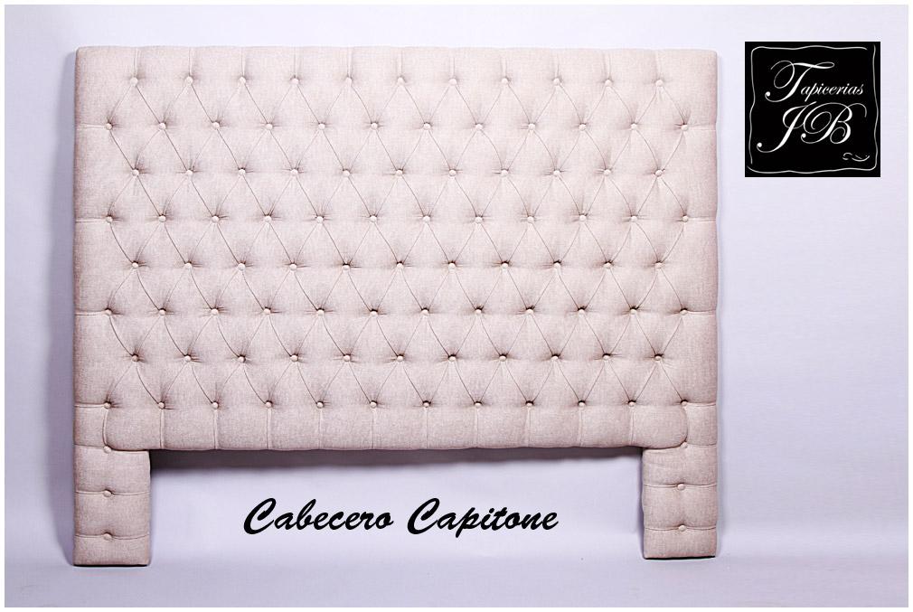 Tapicero en madrid tapicerias en madrid muebles nuevos - Cabecero capitone blanco ...